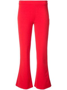 укороченные расклешенные брюки Donna Jeffrey Dodd