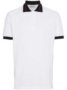 футболка-поло с контрастным воротником Dior Homme