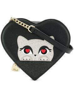 сумка через плечо K/Love с изображением котенка Karl Lagerfeld