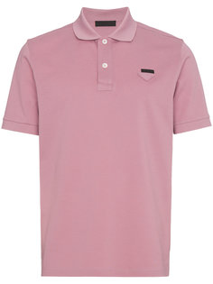 рубашка-поло узкого кроя Prada