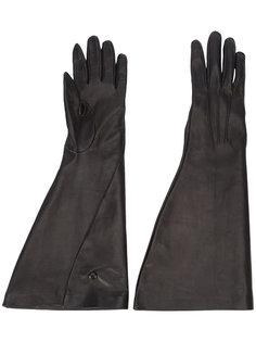 длинные перчатки Victoria Beckham