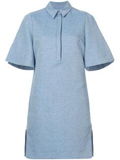 платье с пуговичной планкой спереди Carven