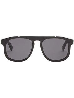 солнцезащитные очки закругленной формы Fendi Eyewear