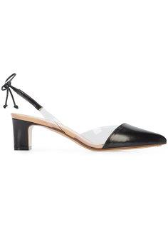 туфли с прозрачными панелями Francesco Russo