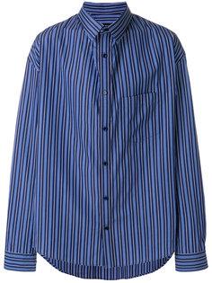 рубашка Bal Profile Collar Balenciaga