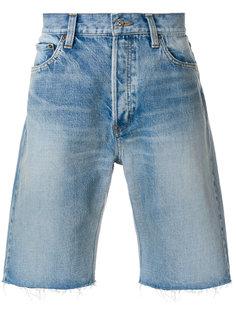 джинсовые шорты Bal Balenciaga