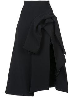юбка с драпировками Excellence Maticevski
