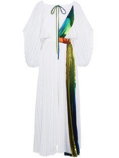 плиссированное платье макси Rainbow Rosie Assoulin