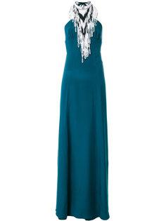 платье с вырезом-петлей халтер Talitha