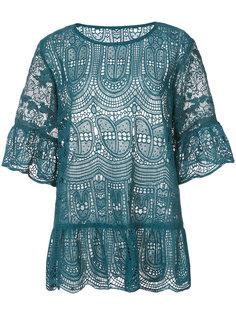 кружевная блузка  Anna Sui