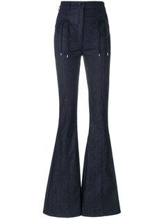 расклешенные джинсы Nina Ricci