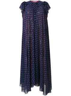 приталенное платье Flou Balenciaga