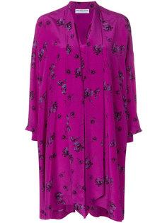 платье с принтом Vareuse Balenciaga
