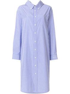 свободное платье с воротником  Balenciaga