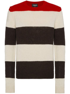 вязаный свитер с полосатым узором Calvin Klein 205W39nyc