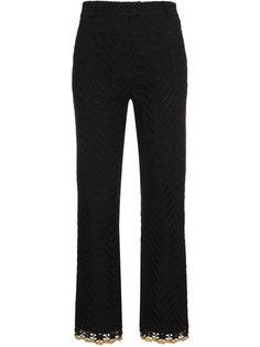 брюки с золотистыми люверсами  Jour/Né