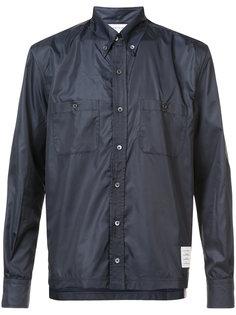 куртка с длинными рукавами и заостренным воротником Thom Browne