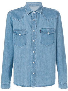 джинсовая рубашка Ami Ami Alexandre Mattiussi
