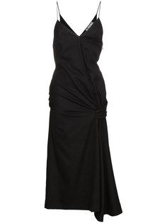 платье без рукавов с дизайном со сборкой Jacquemus