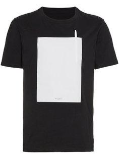 футболка со съемной ручкой Maison Margiela
