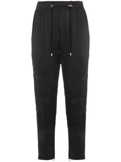 спортивные брюки на шнурке  Balmain