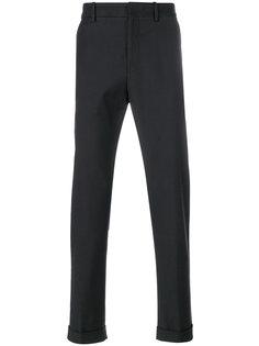 брюки-чинос с подвернутыми манжетами Bottega Veneta