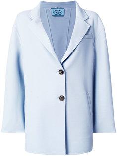 пиджак свободного кроя Prada