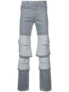 джинсы с декором из отворотов Y / Project
