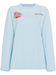 футболка свободного кроя с короткими рукавами Adios Palm Angels