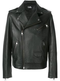 байкерская куртка Karl Lagerfeld