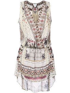 приталенное платье с принтом  Camilla