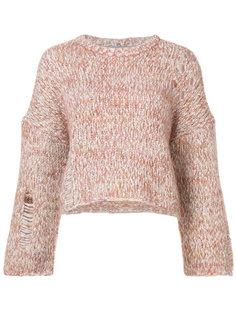 свитер рыхлой вязки Raquel Allegra