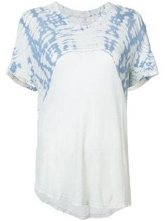 футболка с отделкой в стиле тай-дай Raquel Allegra