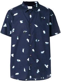 рубашка с короткими рукавами с принтом Ps By Paul Smith