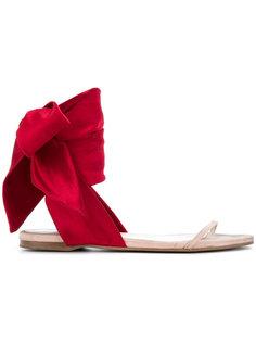 сандалии с завязками на щиколотке Cédric Charlier