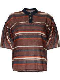 рубашка-поло в полоску Kolor