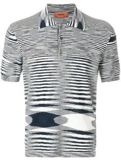 футболка-поло Missoni