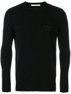свитер с круглым вырезом Givenchy