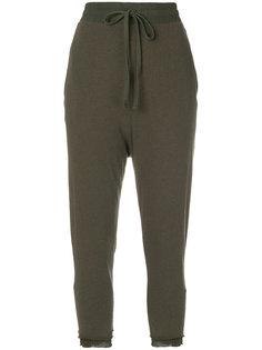 спортивные брюки с заниженным шаговым швом  Thom Krom