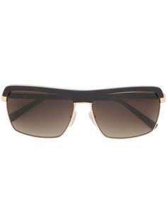 объемные солнцезащитные очки Gold And Wood