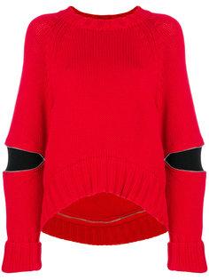 свитер с вырезами  Alexander McQueen