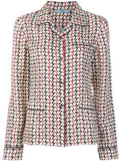 пижама с орнаментом  Prada