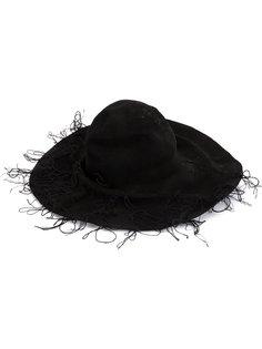 фетровая шляпа с нитками Horisaki Design & Handel