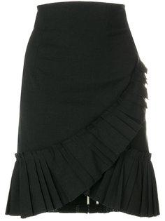 юбка с оборкой  Isabel Marant