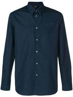 рубашка с длинными рукавами с логотипом Nº21
