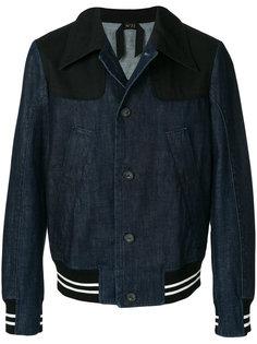 джинсовая куртка-бомбер Nº21