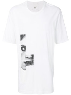 face printed T-shirt Lost & Found Rooms