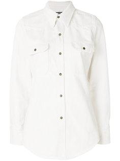 джинсовая приталенная рубашка  Calvin Klein 205W39nyc
