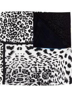 леопардовый платок с панельным дизайном Pierre-Louis Mascia