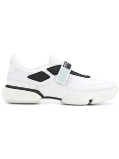 кроссовки на липучке Prada